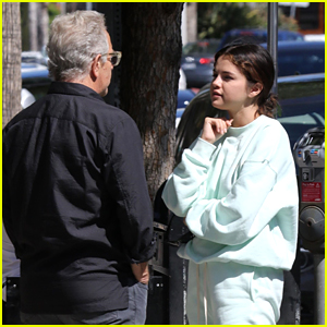 Selena Gomez Goes Comfy Casual for a Business Lunch