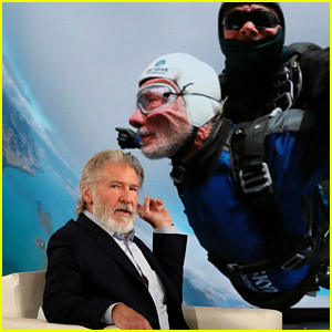 Harrison Ford Went Skydiving Because His Son Wanted To Do It!