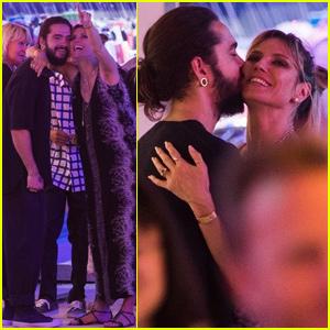 Heidi Klum & Tom Kaulitz Couple Up For Evening at the Fair!