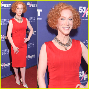 Kathy Griffin Steps Out for 'A Hell of A Story' Premiere in NYC