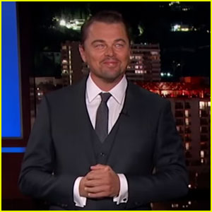 Leonardo DiCaprio, Brad Pitt, & Margot Robbie Interrupt 'Kimmel' on Way to 'Once Upon a Time in Hollywood' Premiere (Video)
