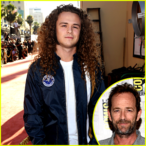 Luke Perry's Son Jack Honors Him at 'Once Upon a Time in Hollywood' Premiere!