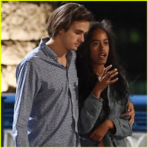 Malia Obama & Boyfriend Rory Farquharson Have a Date Night in Downtown LA!