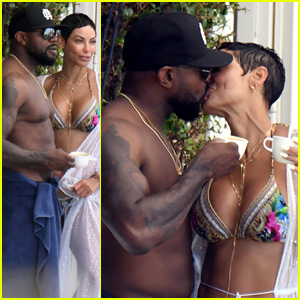 Nicole Murphy Explains Those Antoine Fuqua Kissing Photos (Report)