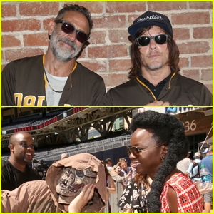 'Walking Dead' Cast Hangs Out with Walkers at Comic-Con 2019!