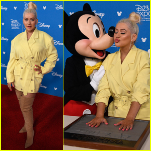 Christina Aguilera Gets Honored as Disney Legend: 'This Is Cooler Than a Grammy'