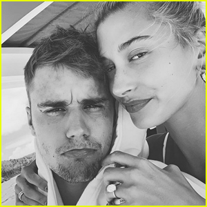 Justin & Hailey Bieber Share Cute Selfie While on Vacation!
