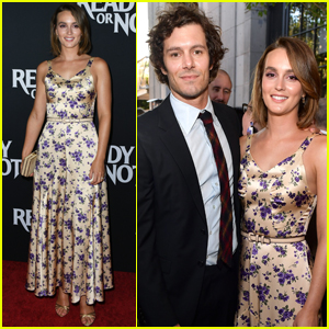 Leighton Meester Supports Adam Brody at 'Ready or Not' Premiere!
