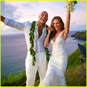 Dwayne 'The Rock' Johnson & Lauren Hashian's Wedding Photos Released!