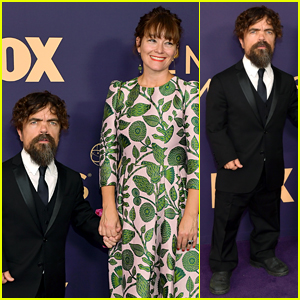 Peter Dinklage Holds Hands with Wife Erica Schmidt at Emmys 2019