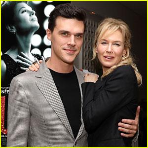Renee Zellweger & Finn Wittrock Strike a Pose at 'Judy' NYC Screening