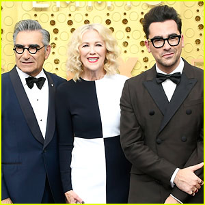 'Schitt's Creek' Cast Attends the Emmy Awards Together for First Time!