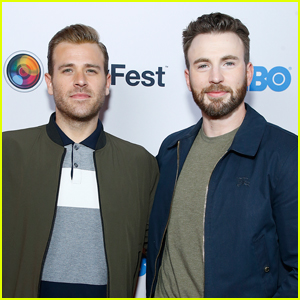 Chris Evans Supports Brother Scott Evans at 'Sell By' Premiere in NYC!