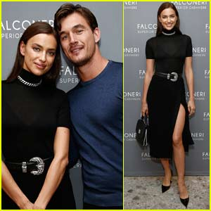 Irina Shayk Joins Tyler Cameron at Falconeri Store Opening Party in NYC
