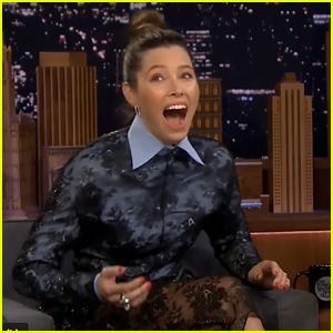 Jessica Biel Shaded Future Husband Justin Timberlake & NSYNC in Early '90s Interview - Watch!