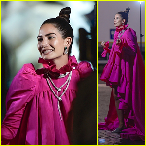 Lily Aldridge Shoots Bulgari Commercial in Rome