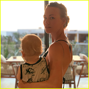 Yvonne Strahovski Conquered Her Fear of the Ocean in Cabo!