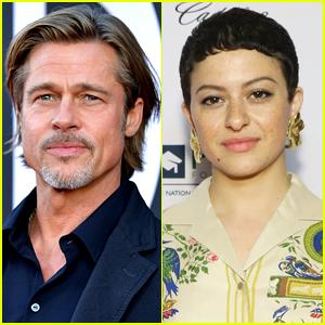 Brad Pitt Source Speaks to Alia Shawkat Romance Rumors