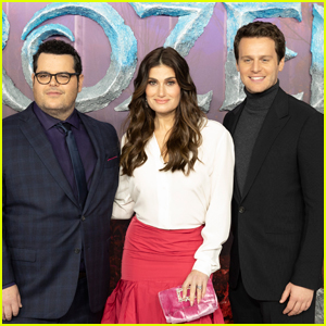 Josh Gad, Idina Menzel, & Jonathan Groff Premiere 'Frozen 2' in London!