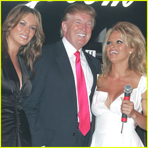 Pamela Anderson Praises the Trumps While Asking for a Favor
