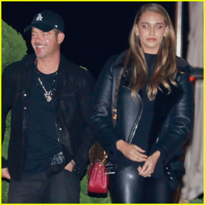 Robin Thicke & Fiancee April Love Geary Couple Up for Date Night in Malibu