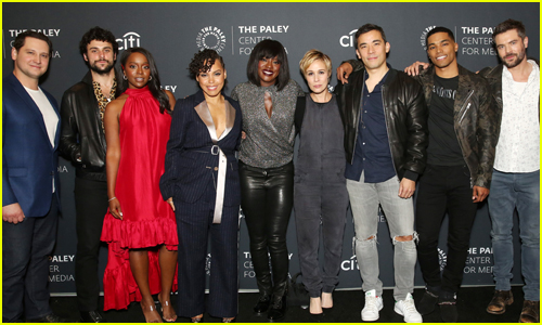 Viola Davis & 'HTGAWM' Cast Mates Promote Final Season at PaleyLive