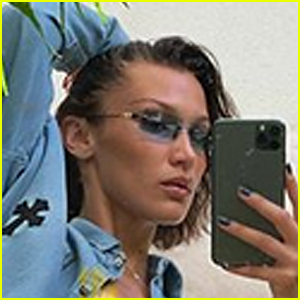 Bella Hadid Leaves Little to the Imagination With Sexy Mirror Selfie!