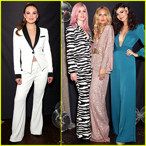 Rachel Zoe Gets Support from Hannah Brown & More at Holiday Event