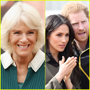 Duchess Camilla's Response to a Prince Harry & Meghan Markle Question Is Gaining Some Attention - Watch!