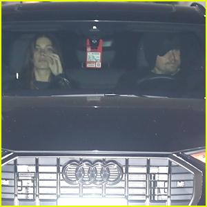 Leonardo DiCaprio & Camila Morrone Leave Performance Together in LA