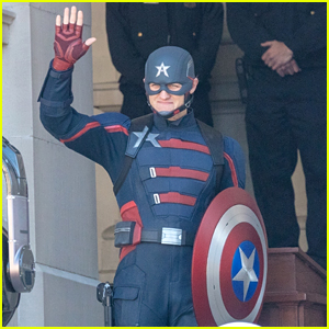 Wyatt Russell Looks Just Like Captain America in Debut Look at US Agent for 'Falcon & the Winter Soldier'