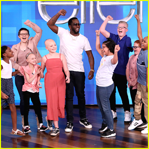 Diddy Surprises Kids Battling Cancer From 'Fighting All Monsters' on 'Ellen'