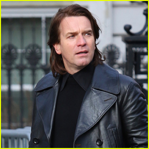 Ewan McGregor Transforms Into Designer Roy Halston Frowick While Filming 'Simply Halston' in NYC