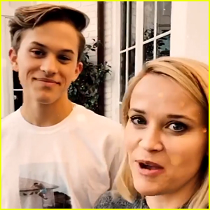 Reese Witherspoon Learns About Dapping From Son Deacon Phillippe