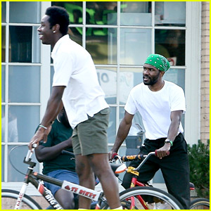 Frank Ocean & Tyler the Creator Go For a Bike Ride Together