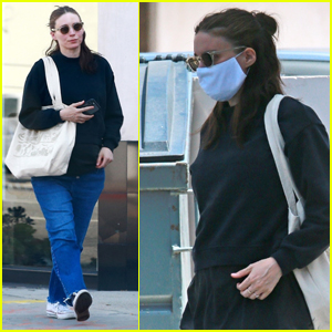 Rooney Mara Covers Up Her Baby