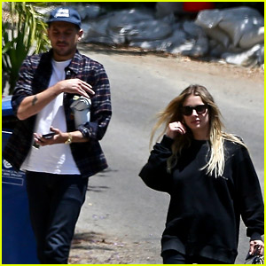 Ashley Benson & G-Eazy Step Out After She Buys a New Home!