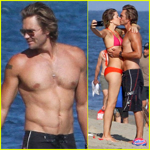 Chad Michael Murray Looks So Hot in These New Shirtless Beach Photos!