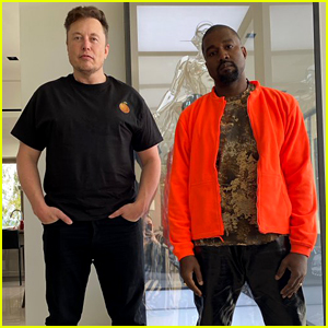 Fans Can't Help But Notice the Background of Kanye West & Elon Musk's Photo