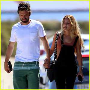 Sebastian Stan Holds Hands with Alejandra Onieva in Ibiza!