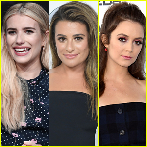Emma Roberts Reacts to Being Pregnant at Same Time as Scream Queens' Billie Lourd & Lea Michele