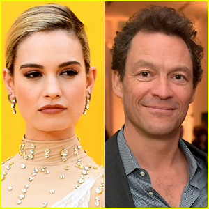 Here's How Lily James Really Feels About Those Dominic West PDA Pics