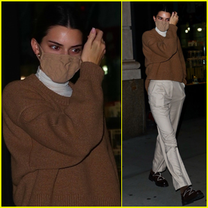 Kendall Jenner Lands in NYC After Family Getaway