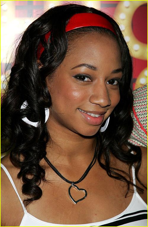 Monique Coleman wearing a headband