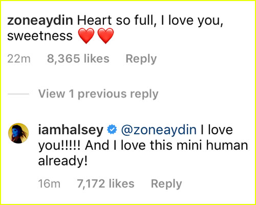 Halsey & Alev's comments