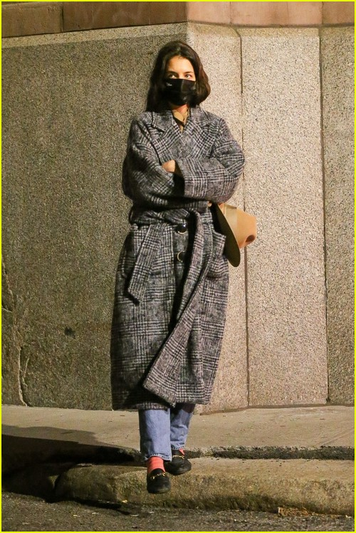 Katie Holmes out and about in New York City