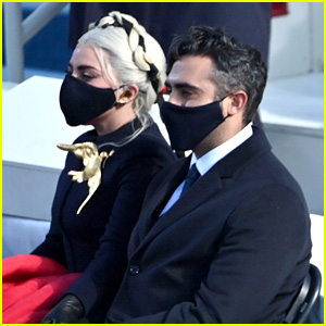 Lady Gaga Kisses Boyfriend Michael Polansky in New Inauguration Photo Posted to Her Instagram