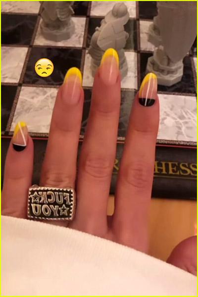 Megan Fox wearing a ring