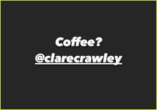 Spencer Robertson Coffee Question to Clare Crawley