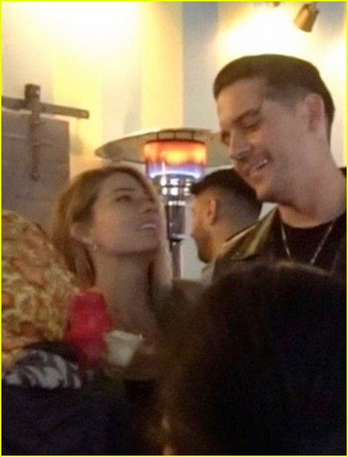 Sarah Trott on a date with G-Eazy